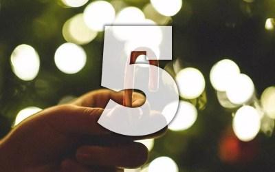 Julkalender lucka 5: Startknapp
