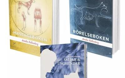 Paket: Massageboken, Rörelseboken & Friskvårdens grundstenar