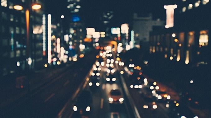 Nachtaufnahme Stadt