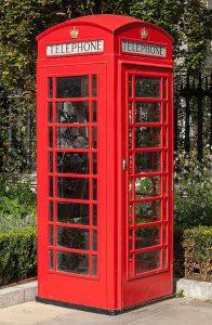 Englische Telefonzelle Bre3xit