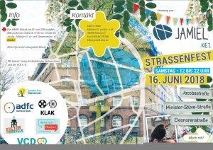 Jamiel Kiez Straßenfest 16.06.2018 Einladung