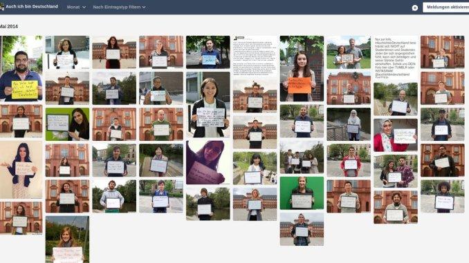 Screenshot Kampagne #auchichbinDeutschland Archiv Mai 2015 vom 2018-07-29