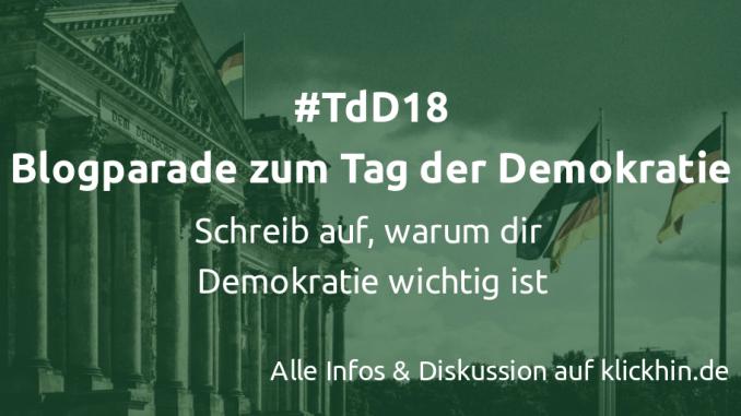 Blogparade Tag der Demokratie, Berlin, Deutscher Reichstag, Fassade Dem Deutschen Volke