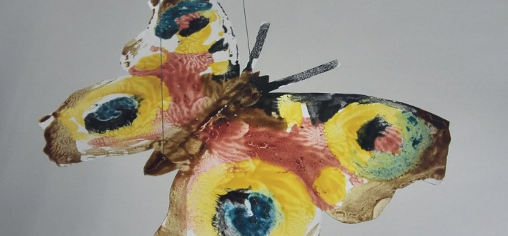 Children's Art Week 2020: Make Your Own Butterfly Mobile