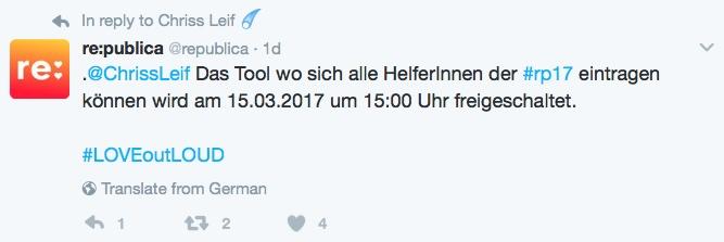 re:publica mit Twitter Punkt