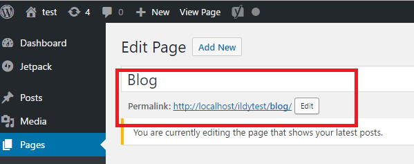 "Cara Mengatasi Error WordPress ""You are currently editing the page that shows your latest posts"""