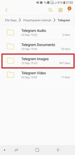 cara mengembalikan gambar di telegram yang terhapus