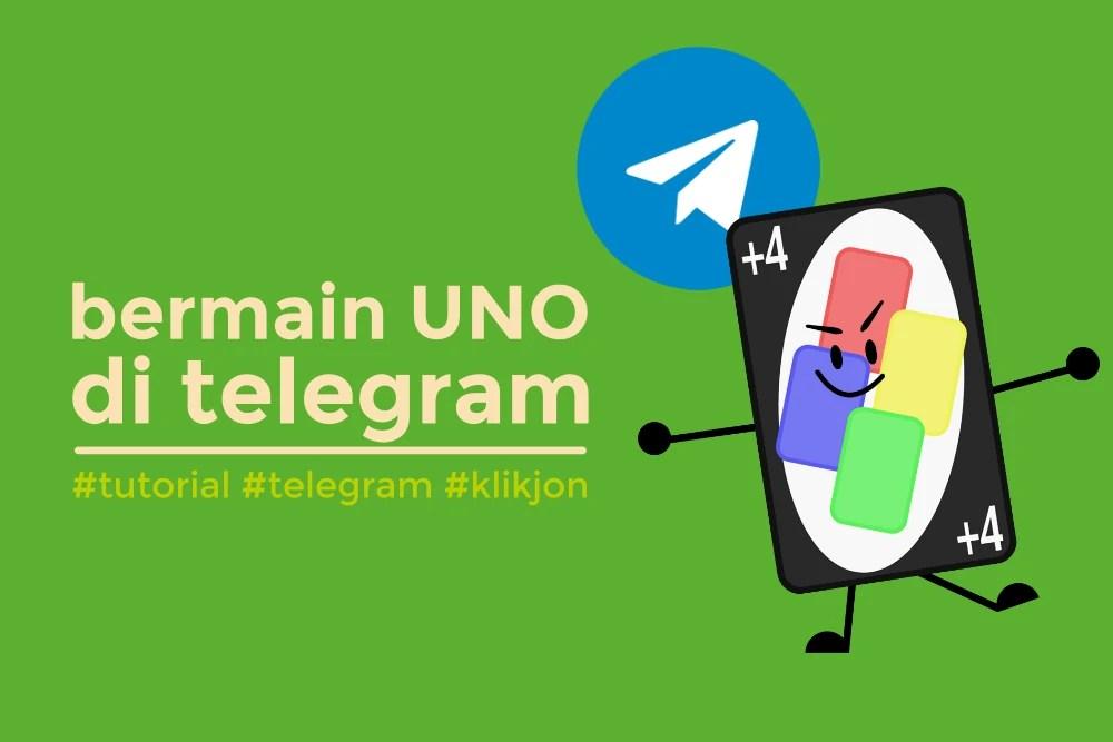 cara main uno di telegram