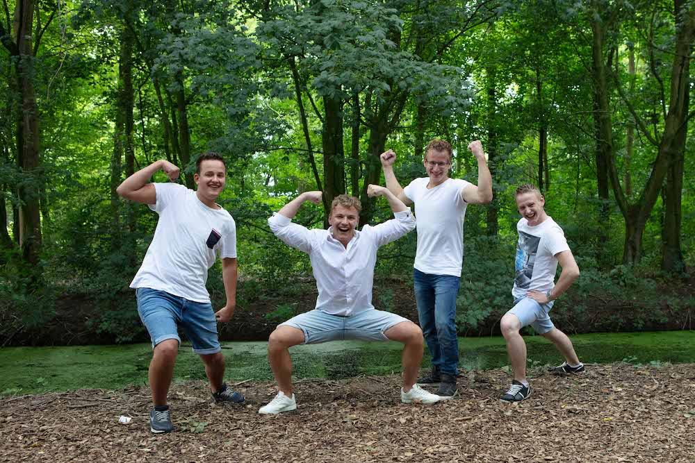 familie reportage op locatie Nieuw-Lekkerland