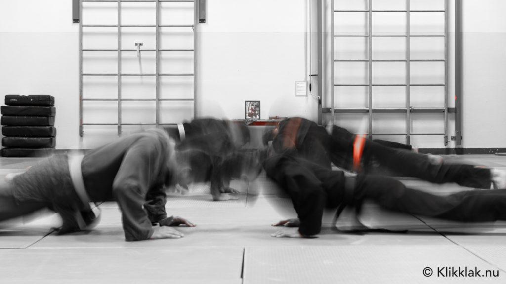 Fotografie in de dojo, Japanse krijgskunst