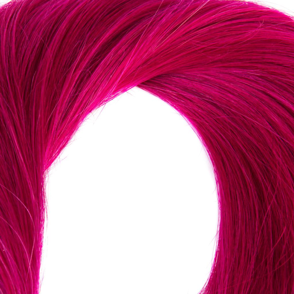 hairextensions productfotografie bestemd voor webshop kleur VIOLET