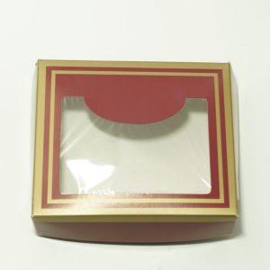 Κουτί Χάρτινο με Παράθυρο 15x13x4