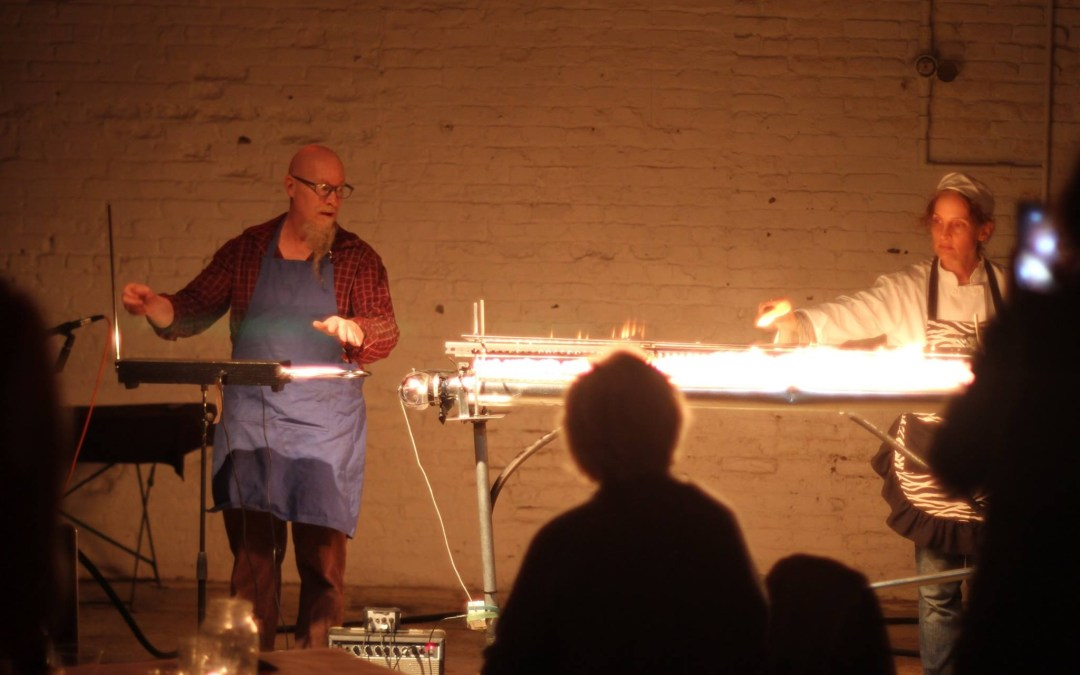 CooksNotes  video Theremin & fire tube demo