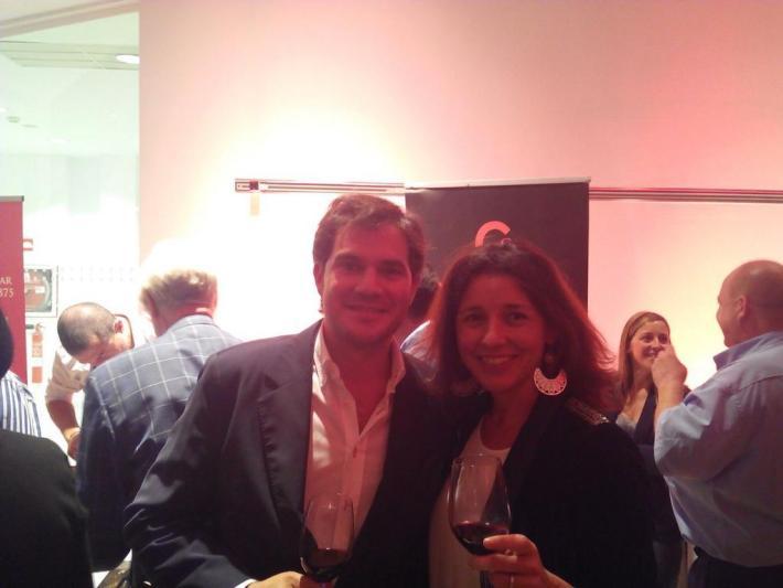 Ana Escobar y David Ramos