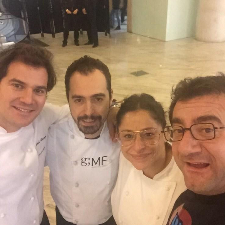 Te invito a cenar: David Ramos, Rubén Pertusa, Barbara Buenache y Sergio Fernandez