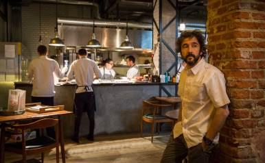 Chaqueta de cocinero Diego Guerrero de DSTAGE