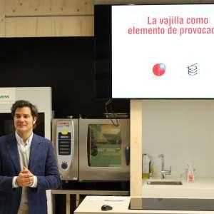David Ramos en la ponencia del Basque Culinary Center