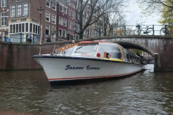 Near-miss collisions are often on the canals.