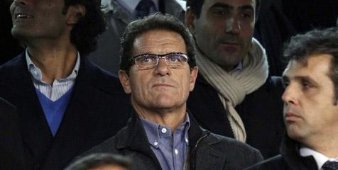Fabio Capello Hadiri Latihan Roma