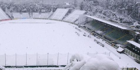 Salju Semakin Tebal, Laga Roma-Inter Ditunda