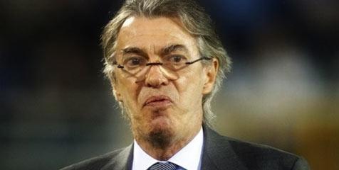 Disikat Roma, Moratti Sindir Sinis Performa Inter