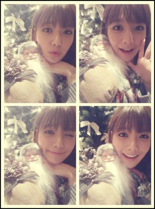 Sooyoung bahagia sambut natal. ©soompi.com