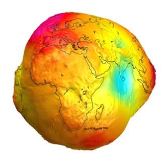 Bumi Tidak Bulat Sempurna