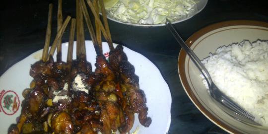 Sate buntel Mbok Galak, menu favorit Soeharto di Solo