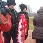 Image for 23 ноября 2013 года на 97 км. Волоколамского шоссе в д.Федюково состоялось поминовение кубанских казаков, героически павших при обороне Москвы 19.11.1941г.