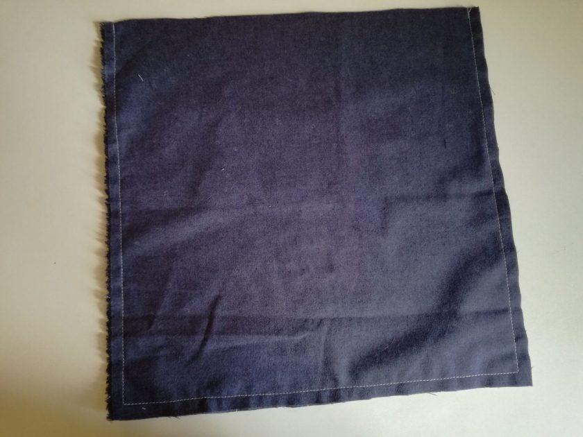 Poche pour couches lavables : couture extérieur