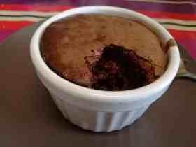 Recette du mi-cuit au chocolat
