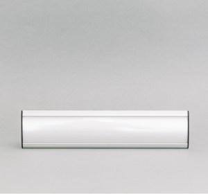 68x300mm durų lentelė skyriaus pavadinimui, išgaubto dizaino ir pagaminta iš aliuminio