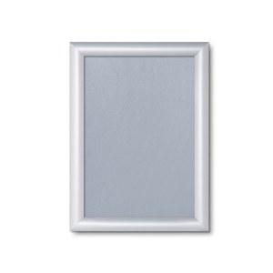 A4 Scritto® Click rėmelis, sidabrinės spalvos ir su 25mm profiliu.