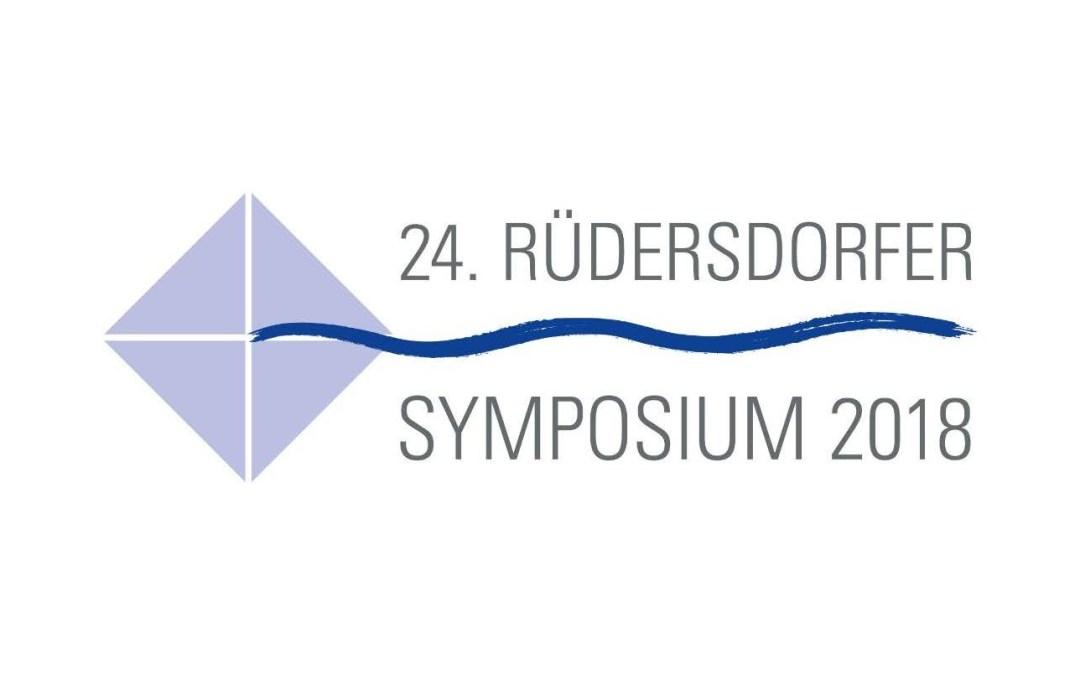 24. Rüdersdorfer Symposium 2018