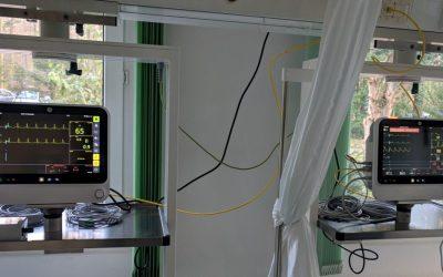 Neue Monitore für Überwachungsstation