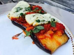 bakłażan w pomidorach