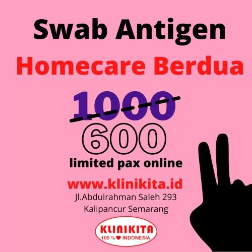 Rapid Antigen Swab Antigen Semarang