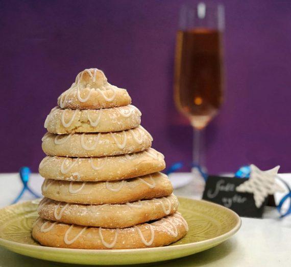 Rezept für kransekage – dänischer Kranzkuchen für die Silvesternacht