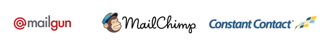 MailGun MailChimp Constant Contact email Marketing
