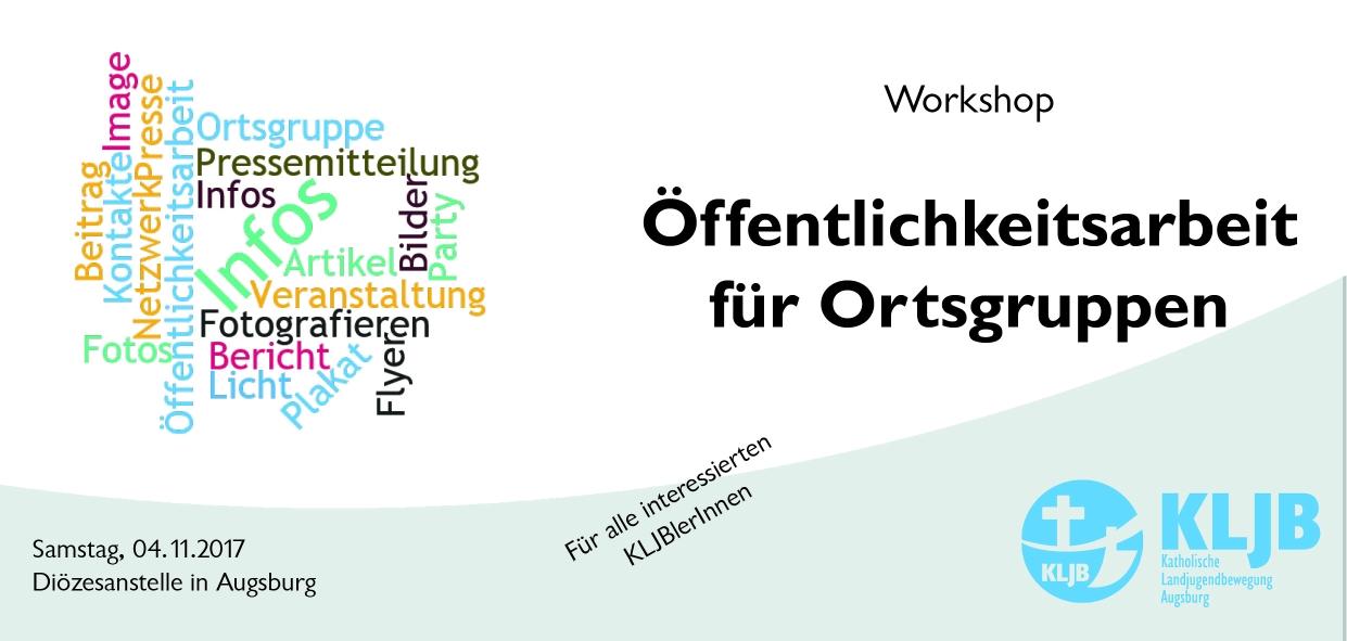 Workshop: Öffentlichkeitsarbeit für Ortsgruppen