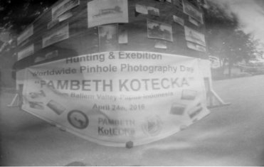 """Yusak Mnsen, """"Pinhole Day"""" Indonesia (member of PAMBETH KOTECKA group)"""