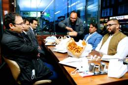 Iftaar dinner among lawyers in London