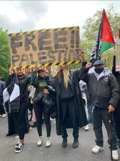 Solidarity with Palestine in UK and Europe (20)