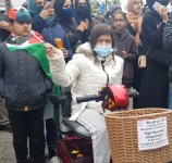 High Wycomb's solidarity with Palestinians (3)