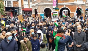 High Wycomb's solidarity with Palestinians (5)