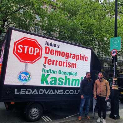 Solidarity with Kashmiris-digital campaign in Birmingham (2)