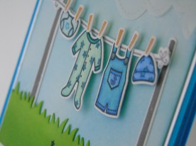 Kim Styles Cards - Lawn Fawn Welcome Baby Boy