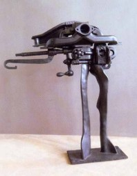 Uomo motore 87x67x22 cm 1975 iron