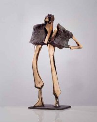 Lawier I 60x40x25 cm 1994 bronze