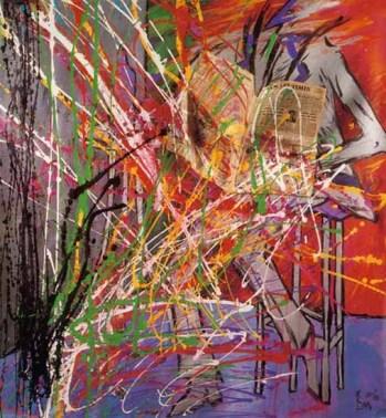 Lettore disorientato 150x200 cm